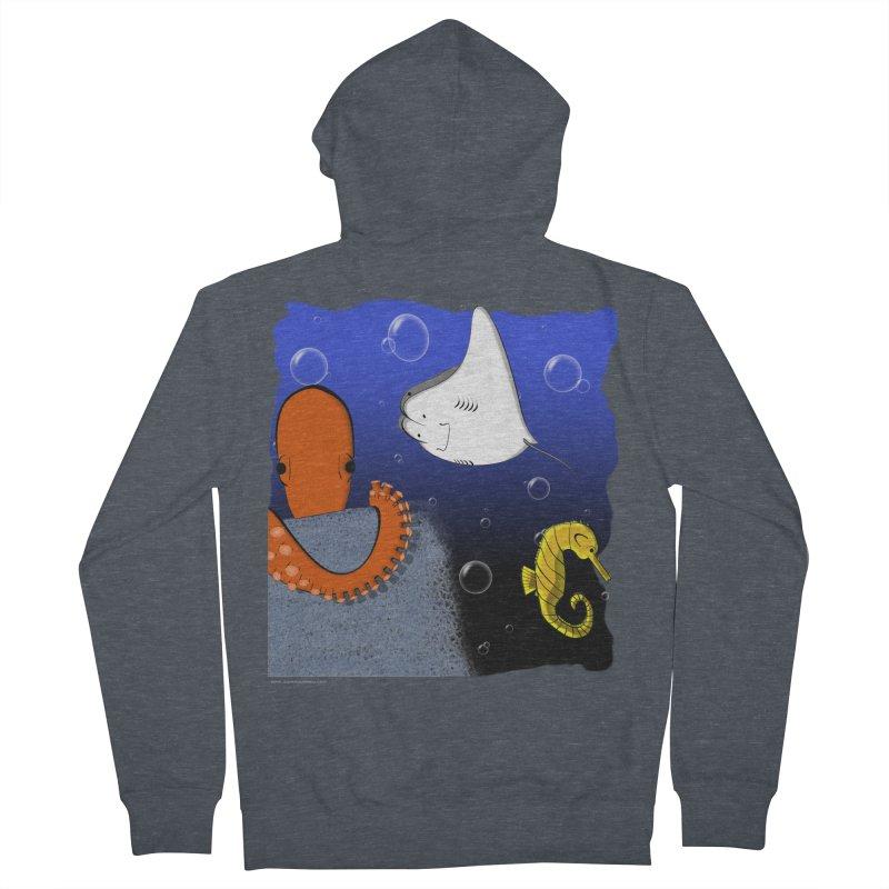 Sea Life Women's Zip-Up Hoody by Every Drop's An Idea's Artist Shop