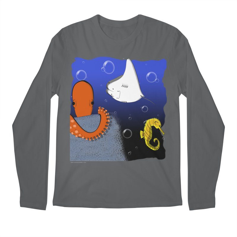 Sea Life Men's Longsleeve T-Shirt by Every Drop's An Idea's Artist Shop