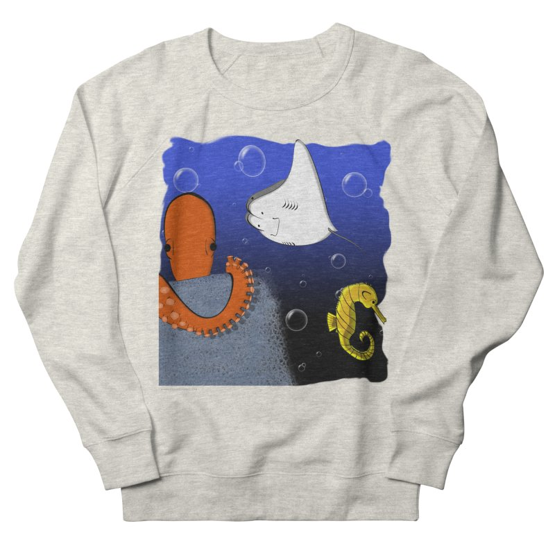 Sea Life Women's Sweatshirt by Every Drop's An Idea's Artist Shop