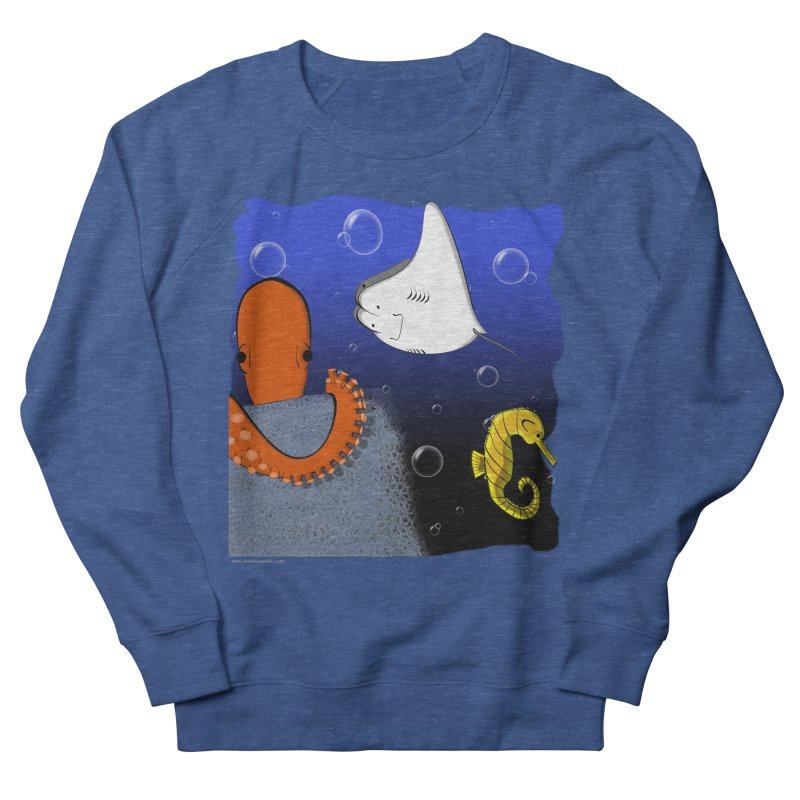 Sea Life Men's Sweatshirt by Every Drop's An Idea's Artist Shop