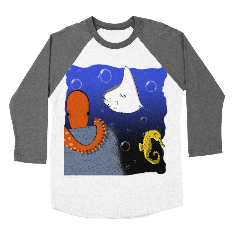 Sea Life Women's Baseball Triblend Longsleeve T-Shirt by Every Drop's An Idea's Artist Shop
