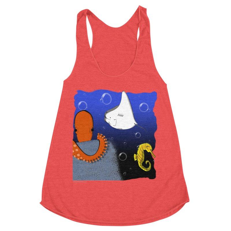 Sea Life Women's Tank by Every Drop's An Idea's Artist Shop