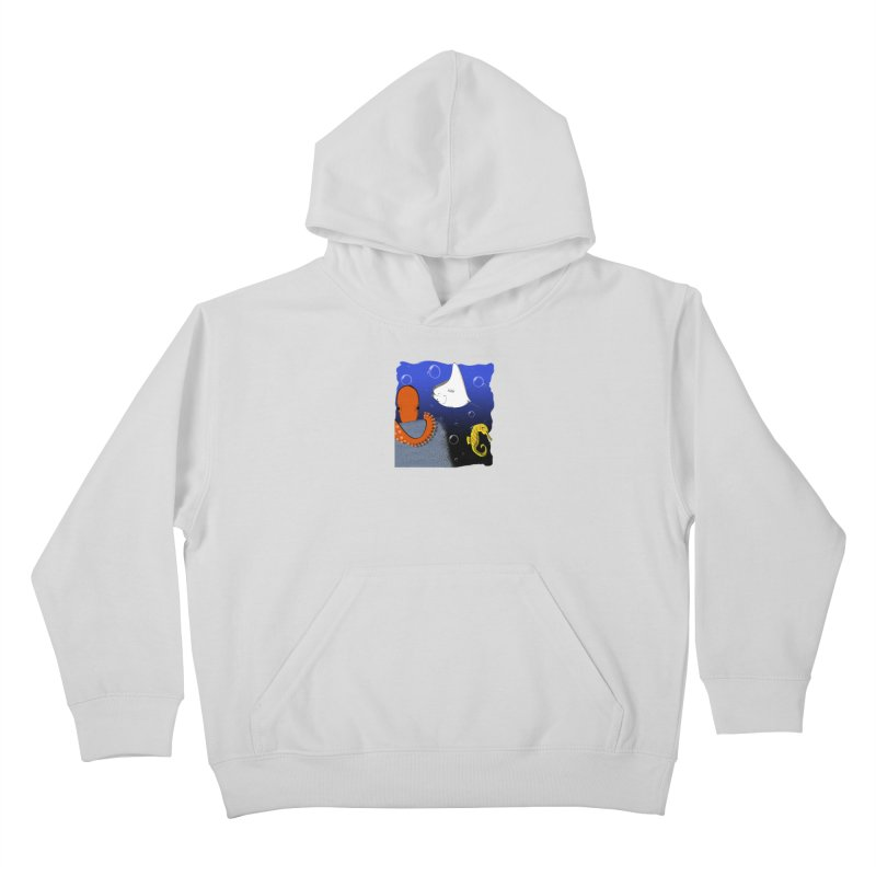 Sea Life Kids Pullover Hoody by Every Drop's An Idea's Artist Shop