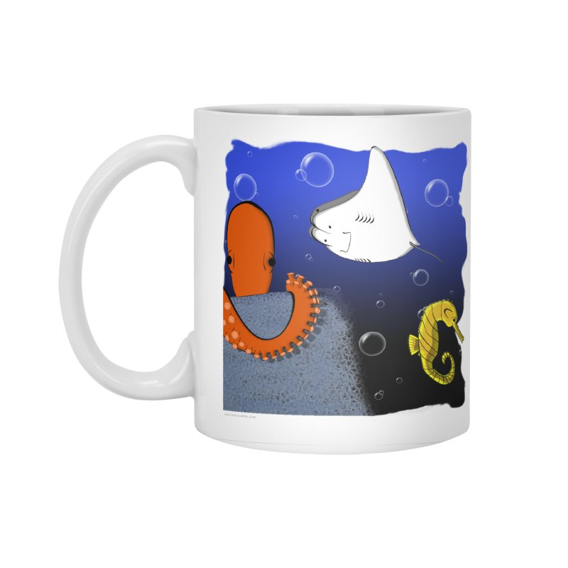 Sea Life Accessories Mug by Every Drop's An Idea's Artist Shop
