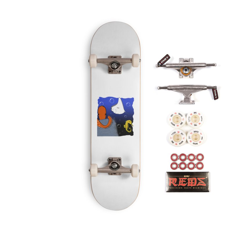 Sea Life Accessories Skateboard by Every Drop's An Idea's Artist Shop
