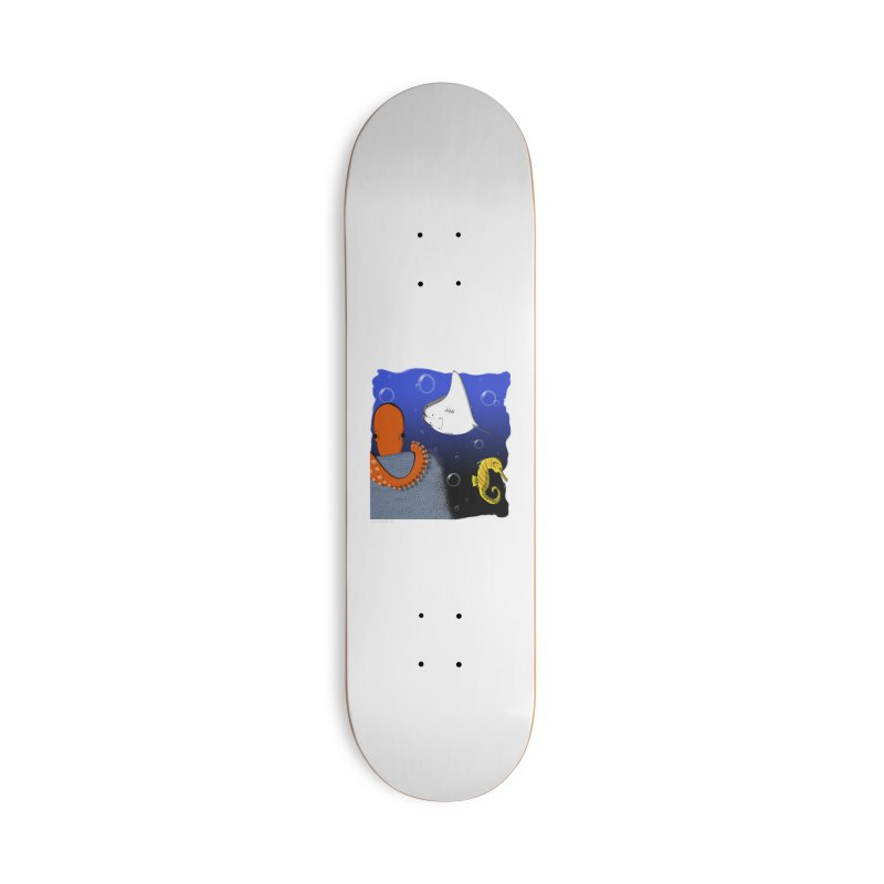 Sea Life Accessories Deck Only Skateboard by Every Drop's An Idea's Artist Shop