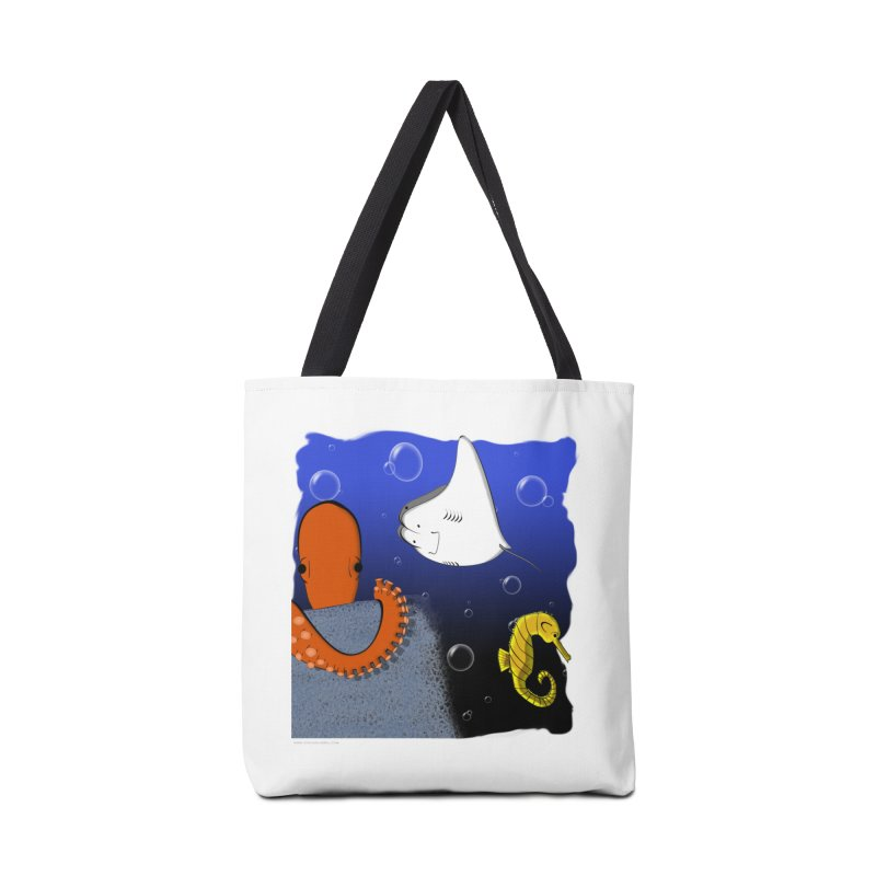Sea Life Accessories Bag by Every Drop's An Idea's Artist Shop