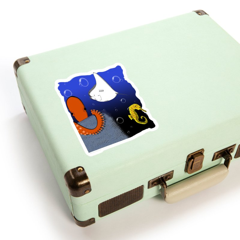 Sea Life Accessories Sticker by Every Drop's An Idea's Artist Shop