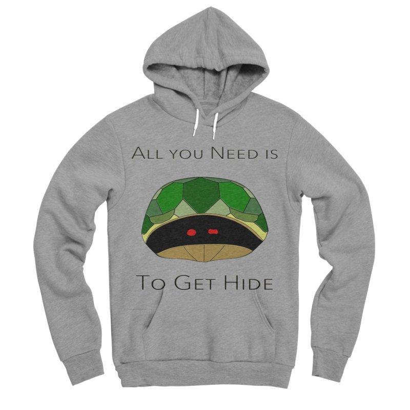 All You Need Is To Get Hide Women's Sponge Fleece Pullover Hoody by Every Drop's An Idea's Artist Shop