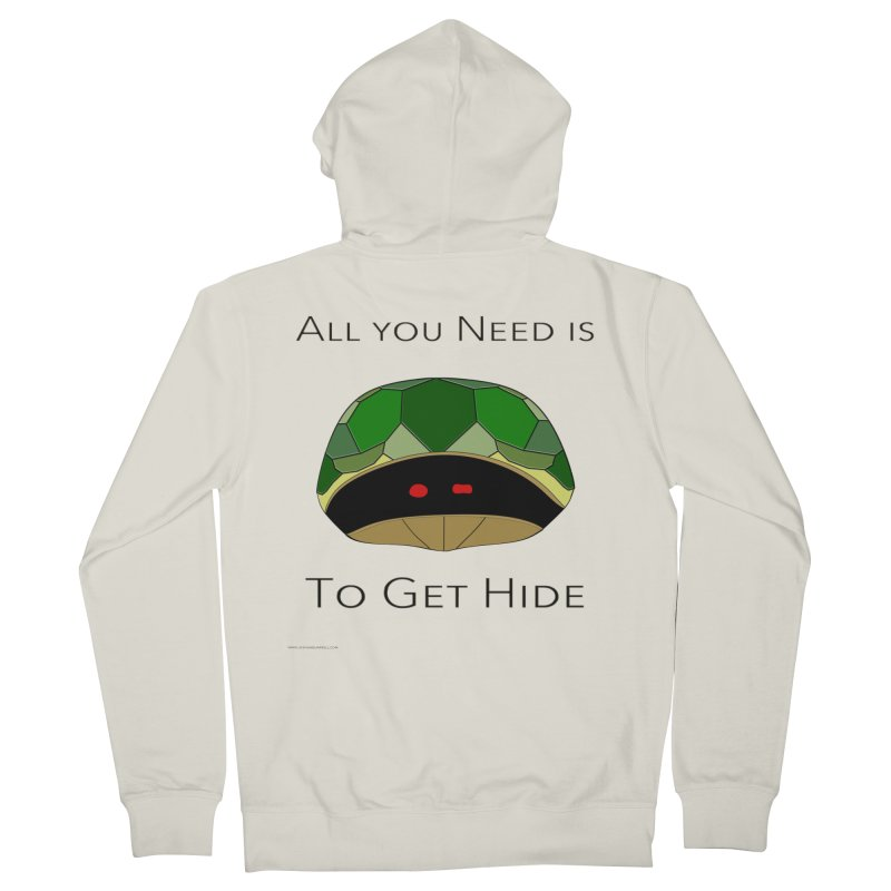 All You Need Is To Get Hide Men's Zip-Up Hoody by Every Drop's An Idea's Artist Shop
