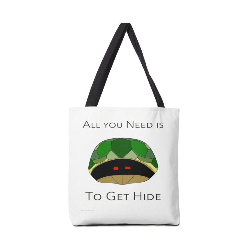 All You Need Is To Get Hide Accessories Bag by Every Drop's An Idea's Artist Shop