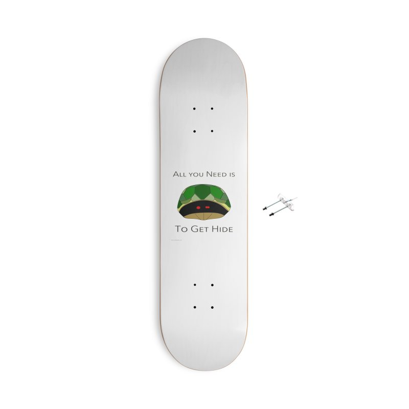 All You Need Is To Get Hide Accessories With Hanging Hardware Skateboard by Every Drop's An Idea's Artist Shop