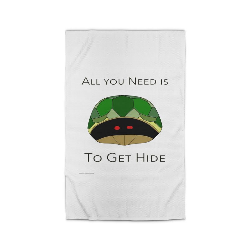 All You Need Is To Get Hide Home Rug by Every Drop's An Idea's Artist Shop
