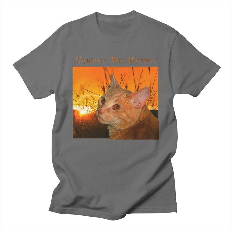 Cricket The Kitten All Genders T-Shirt by Every Drop's An Idea's Artist Shop