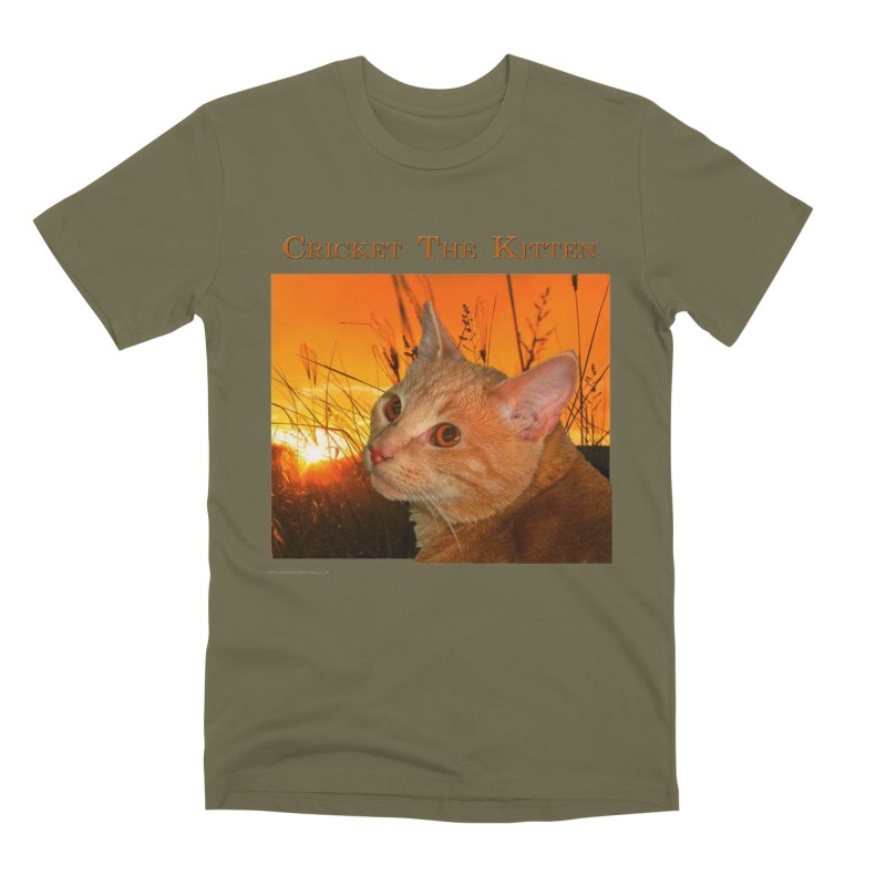 Cricket The Kitten Men's Premium T-Shirt by Every Drop's An Idea's Artist Shop