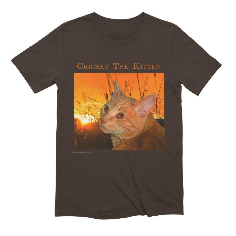 Cricket The Kitten Men's T-Shirt by Every Drop's An Idea's Artist Shop