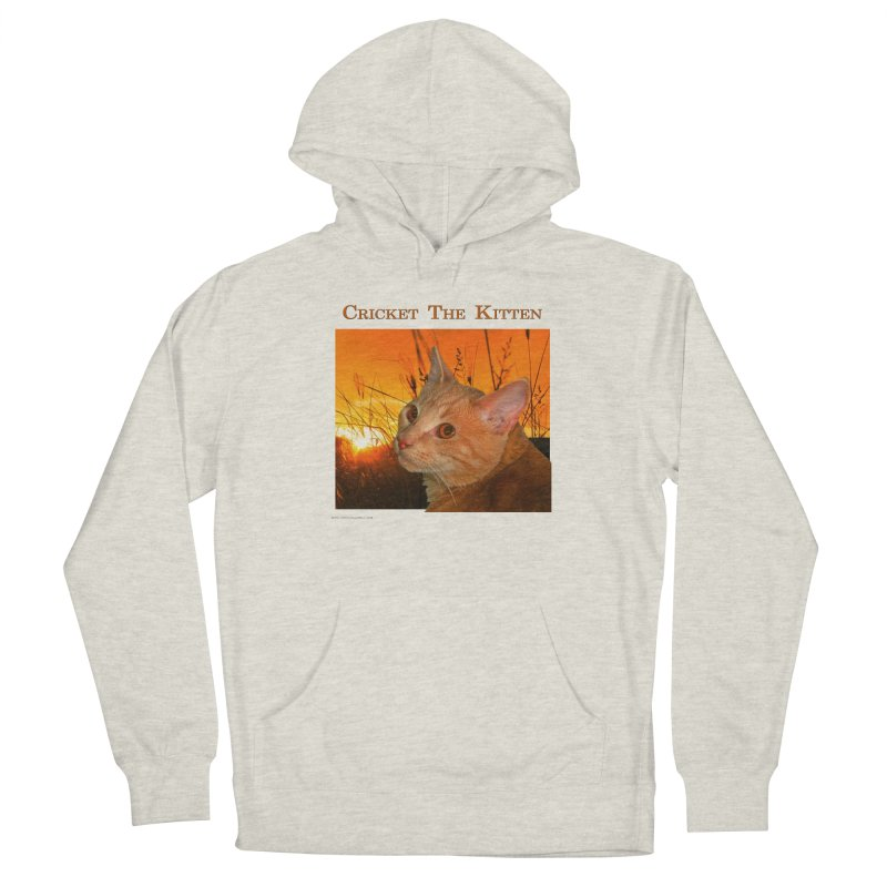 Cricket The Kitten Women's Pullover Hoody by Every Drop's An Idea's Artist Shop