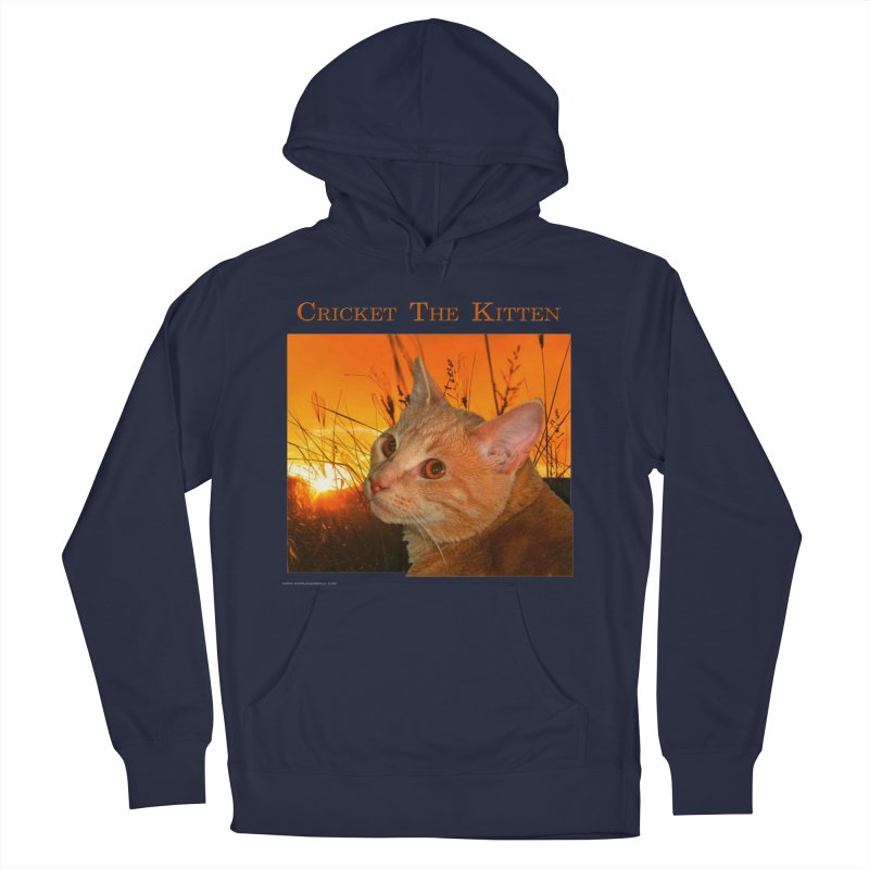 Cricket The Kitten Men's Pullover Hoody by Every Drop's An Idea's Artist Shop