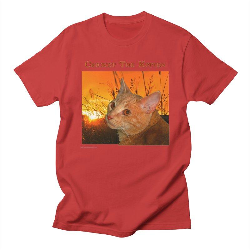Cricket The Kitten Men's Regular T-Shirt by Every Drop's An Idea's Artist Shop