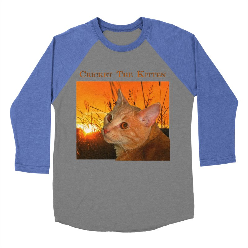Cricket The Kitten Women's Longsleeve T-Shirt by Every Drop's An Idea's Artist Shop