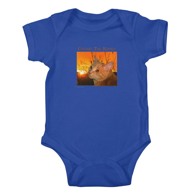 Cricket The Kitten Youth Baby Bodysuit by Every Drop's An Idea's Artist Shop