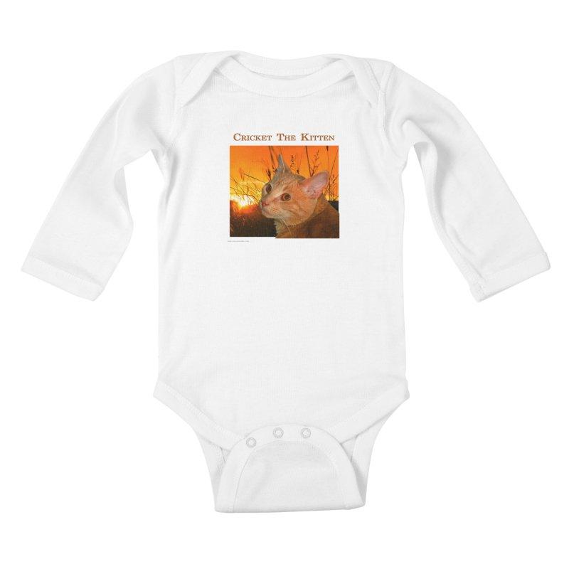 Cricket The Kitten Kids Baby Longsleeve Bodysuit by Every Drop's An Idea's Artist Shop
