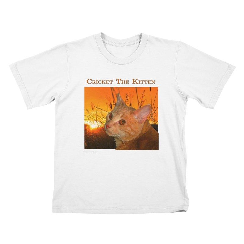 Cricket The Kitten Youth T-Shirt by Every Drop's An Idea's Artist Shop