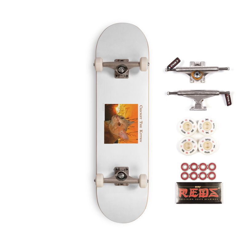 Cricket The Kitten Accessories Complete - Pro Skateboard by Every Drop's An Idea's Artist Shop