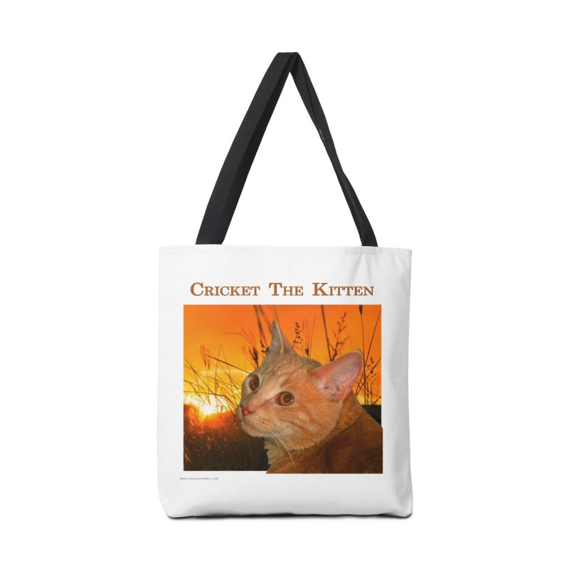 Cricket The Kitten Accessories Tote Bag Bag by Every Drop's An Idea's Artist Shop