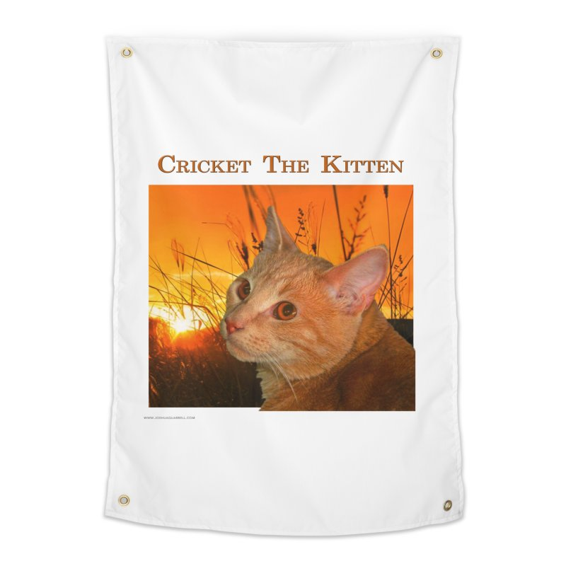 Cricket The Kitten Home Tapestry by Every Drop's An Idea's Artist Shop