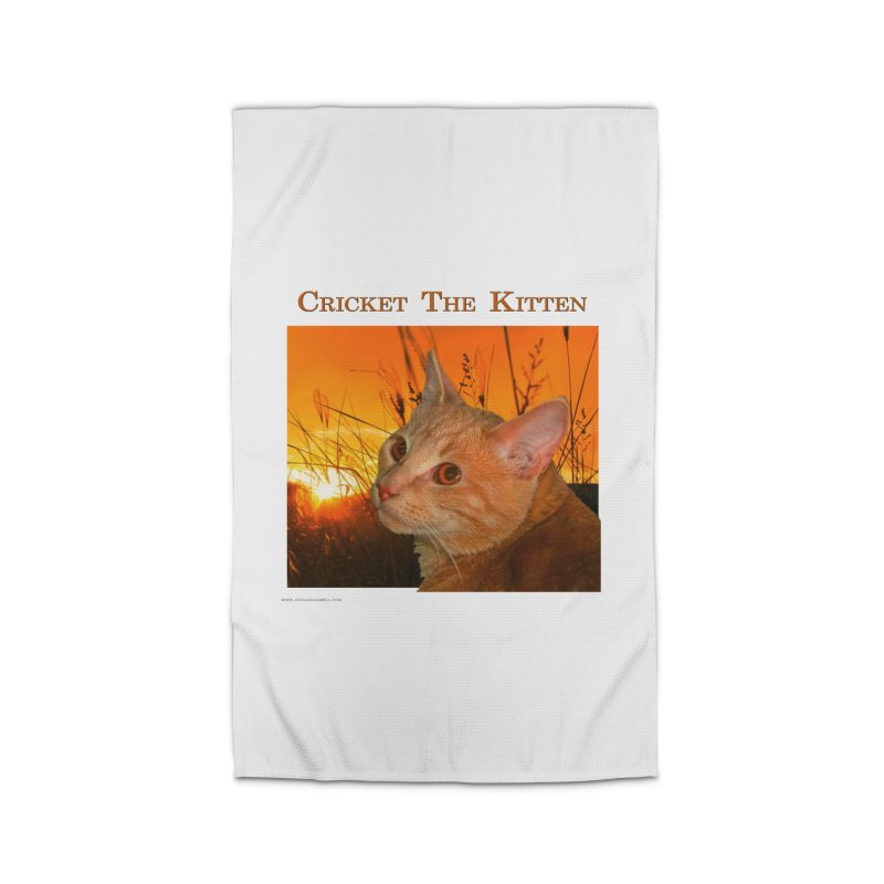 Cricket The Kitten Home Rug by Every Drop's An Idea's Artist Shop