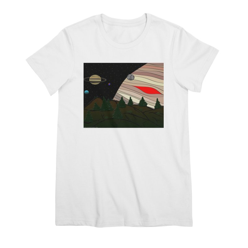 Was It All A Dream Women's Premium T-Shirt by Every Drop's An Idea's Artist Shop