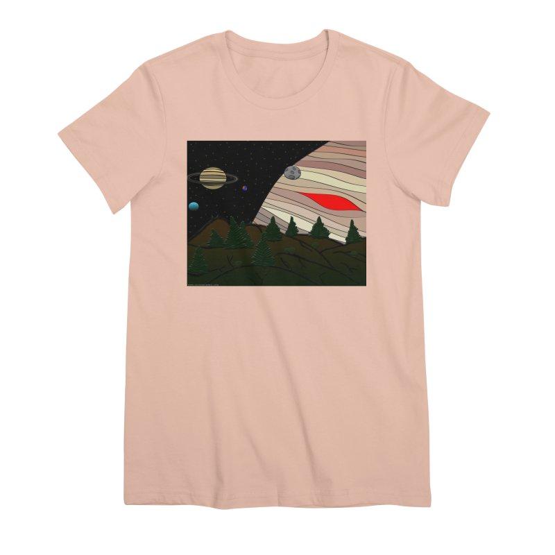 Was It All A Dream Women's Premium T-Shirt by Every Drop's An Idea's Artist Shop