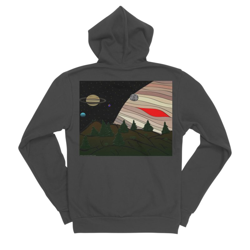 Was It All A Dream Women's Sponge Fleece Zip-Up Hoody by Every Drop's An Idea's Artist Shop