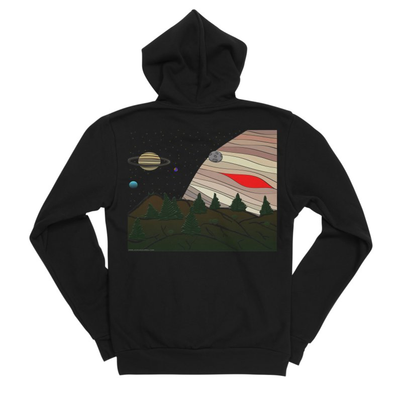 Was It All A Dream Men's Sponge Fleece Zip-Up Hoody by Every Drop's An Idea's Artist Shop