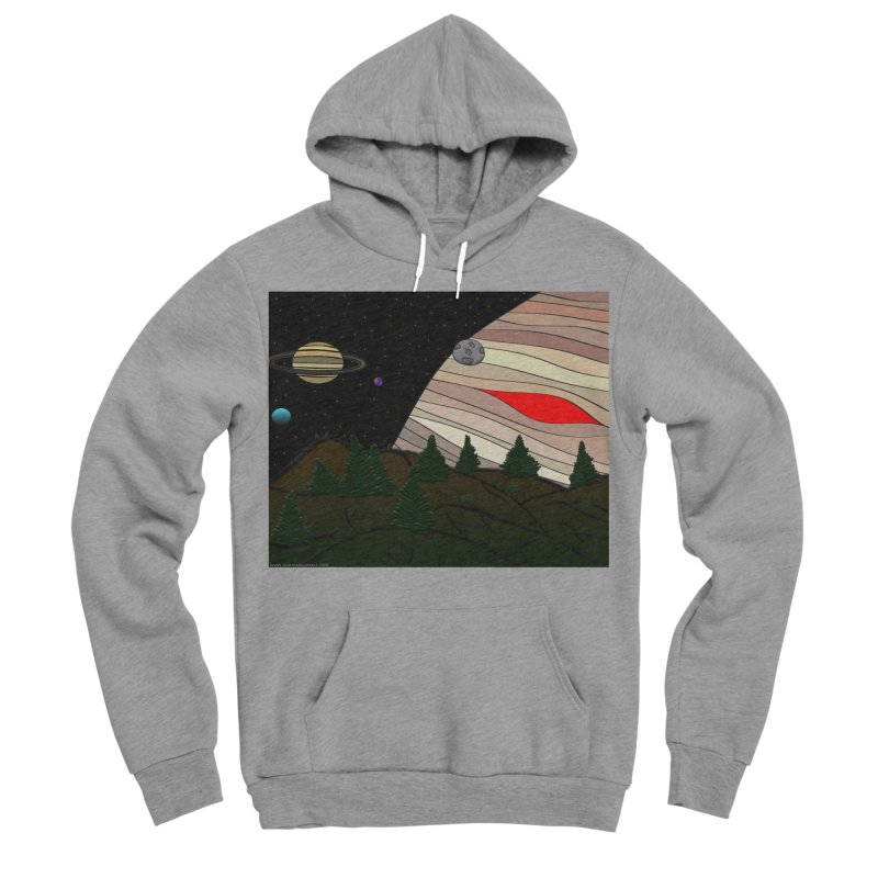 Was It All A Dream Men's Sponge Fleece Pullover Hoody by Every Drop's An Idea's Artist Shop