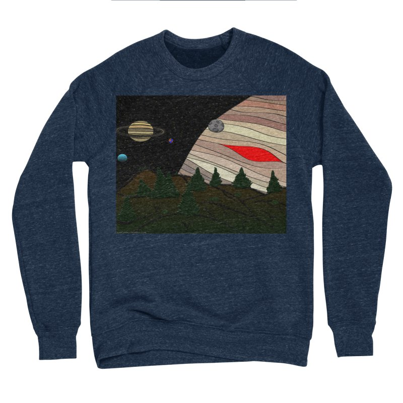 Was It All A Dream Men's Sponge Fleece Sweatshirt by Every Drop's An Idea's Artist Shop