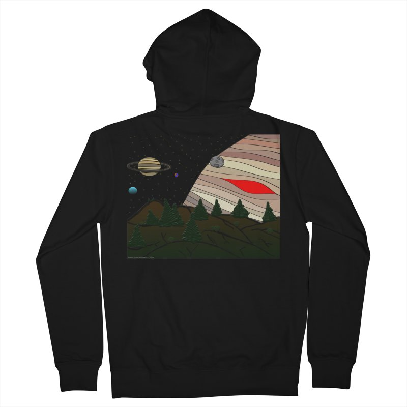 Was It All A Dream Men's Zip-Up Hoody by Every Drop's An Idea's Artist Shop