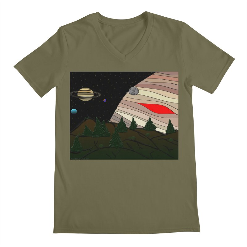 Was It All A Dream Men's V-Neck by Every Drop's An Idea's Artist Shop