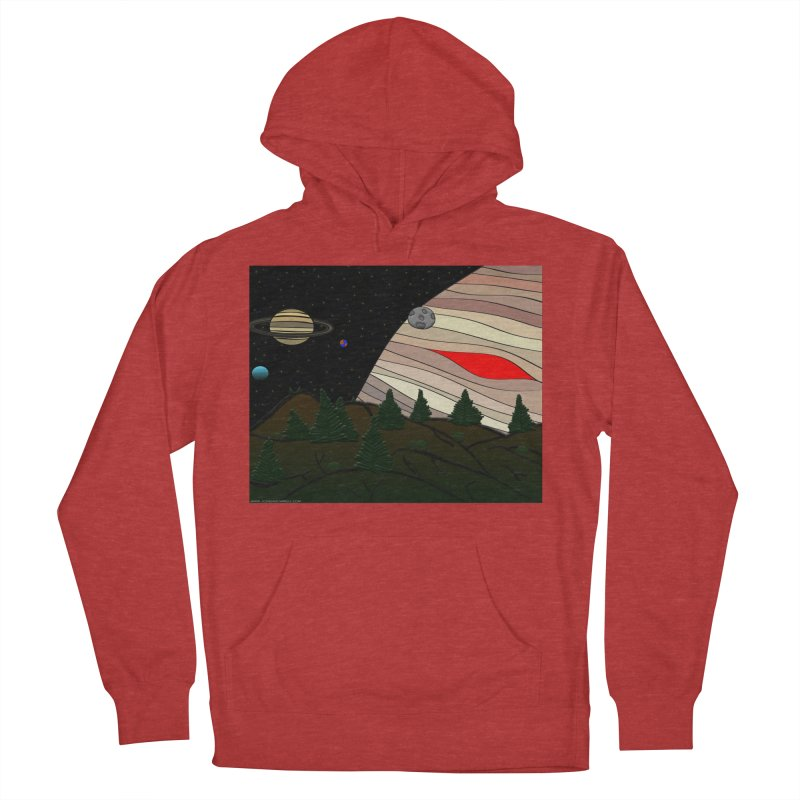 Was It All A Dream Women's French Terry Pullover Hoody by Every Drop's An Idea's Artist Shop