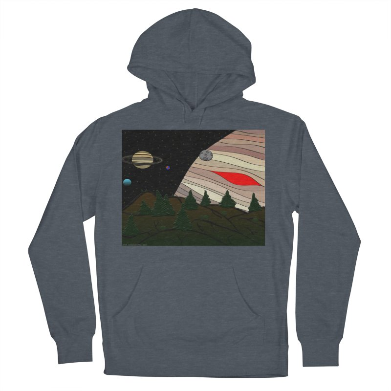 Was It All A Dream Men's French Terry Pullover Hoody by Every Drop's An Idea's Artist Shop