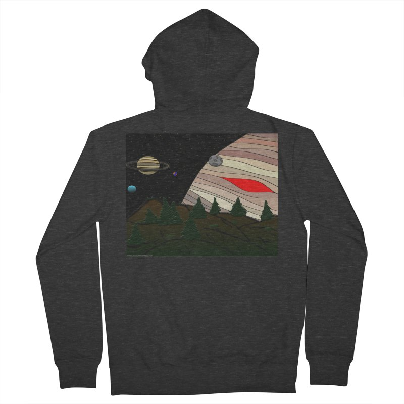 Was It All A Dream Women's French Terry Zip-Up Hoody by Every Drop's An Idea's Artist Shop