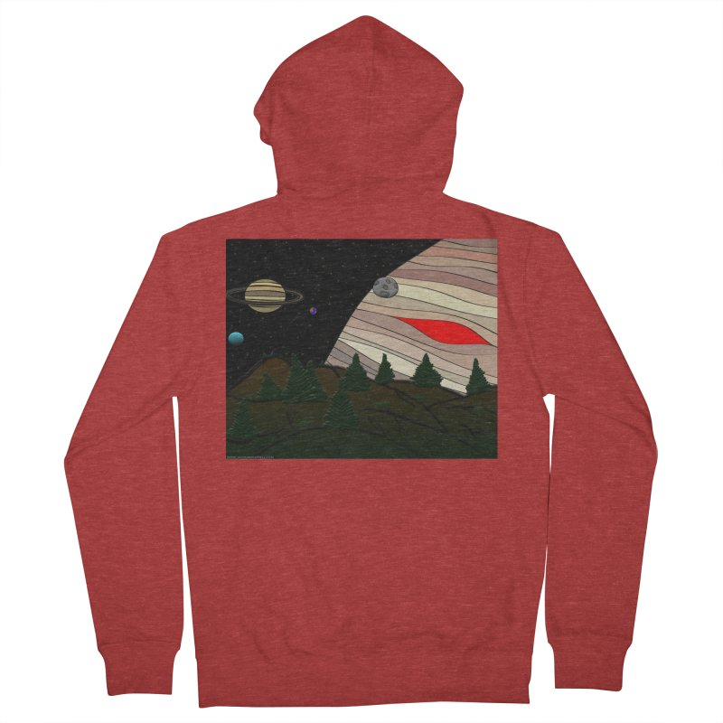 Was It All A Dream Men's French Terry Zip-Up Hoody by Every Drop's An Idea's Artist Shop