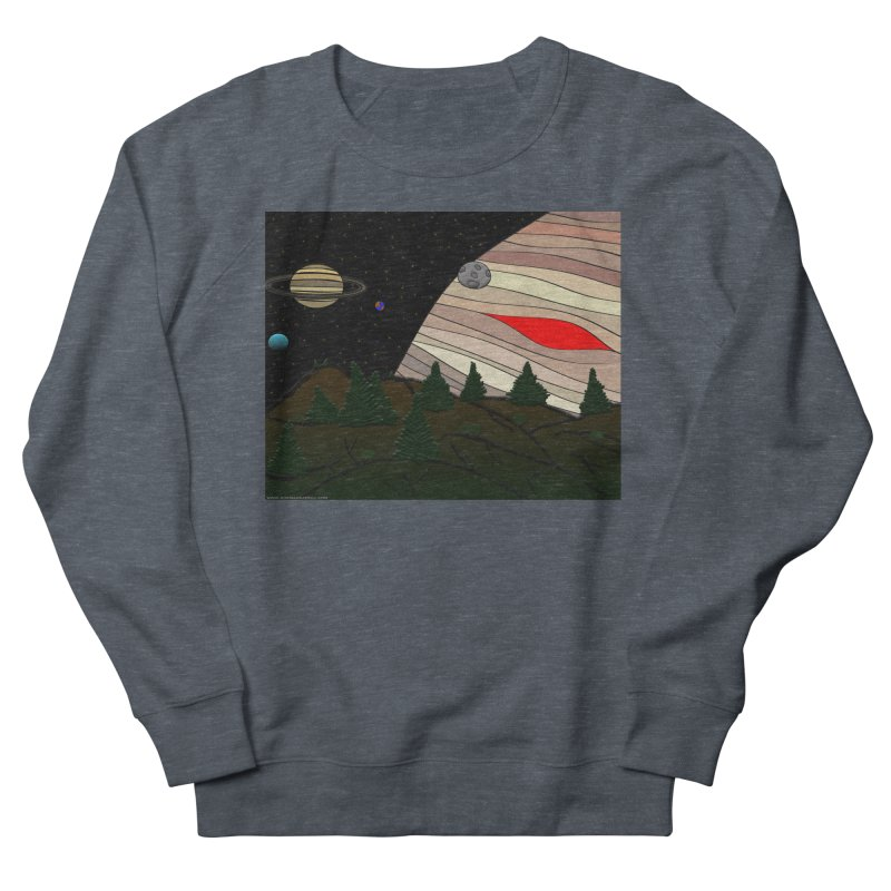 Was It All A Dream Men's French Terry Sweatshirt by Every Drop's An Idea's Artist Shop