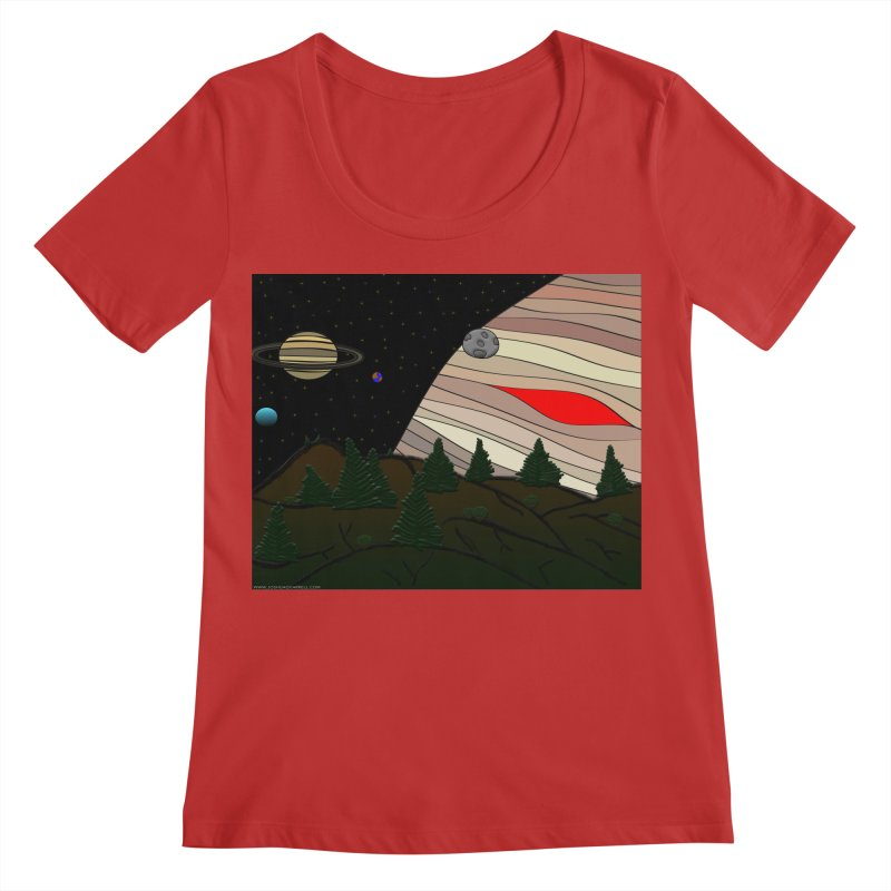 Was It All A Dream Women's Scoop Neck by Every Drop's An Idea's Artist Shop