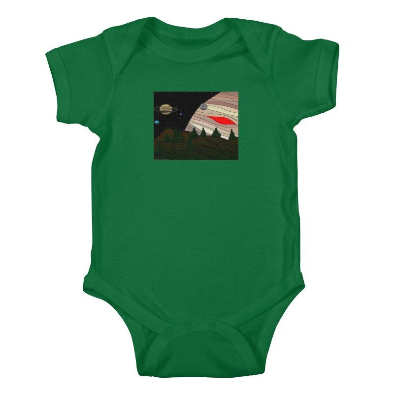 Was It All A Dream Kids Baby Bodysuit by Every Drop's An Idea's Artist Shop