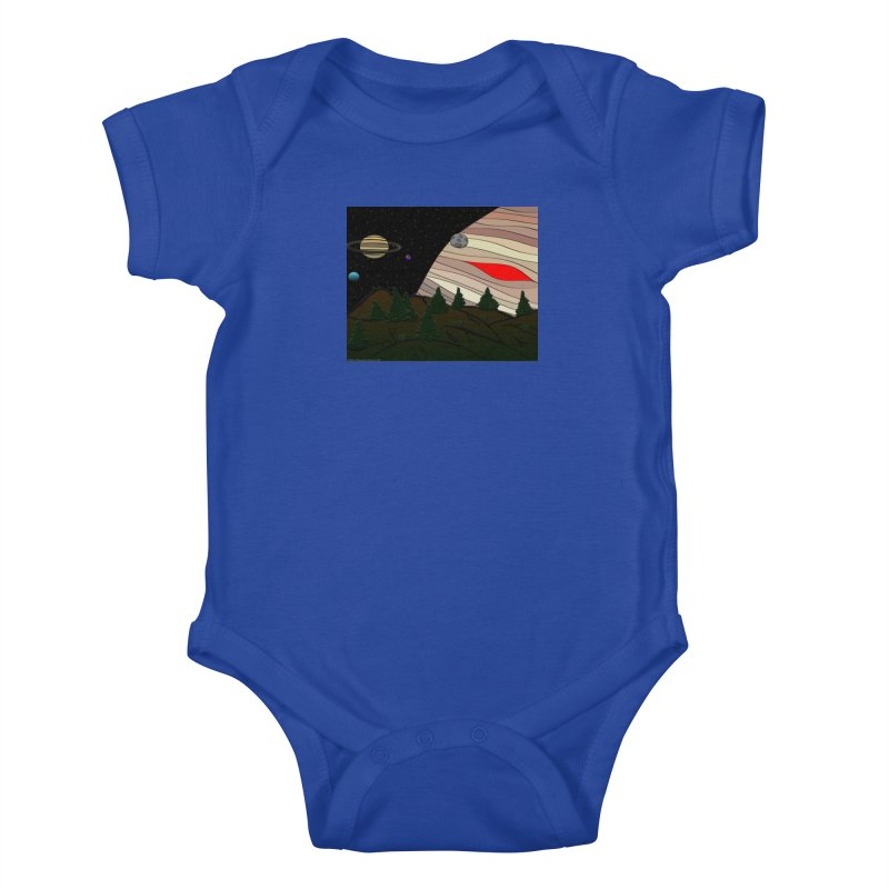Was It All A Dream Kids Baby Bodysuit by Every Drop's An Idea's Artist Shop