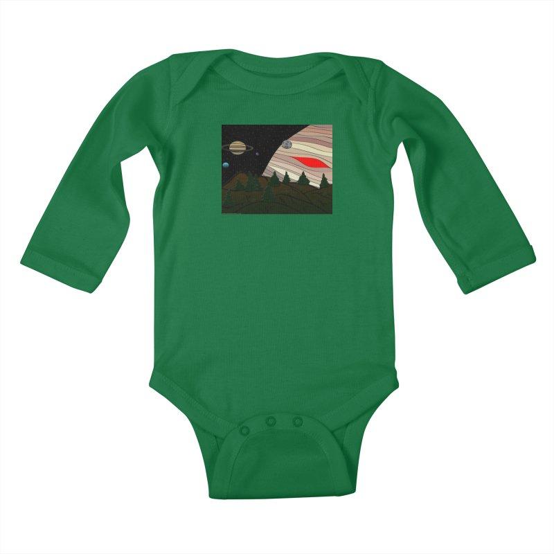 Was It All A Dream Kids Baby Longsleeve Bodysuit by Every Drop's An Idea's Artist Shop