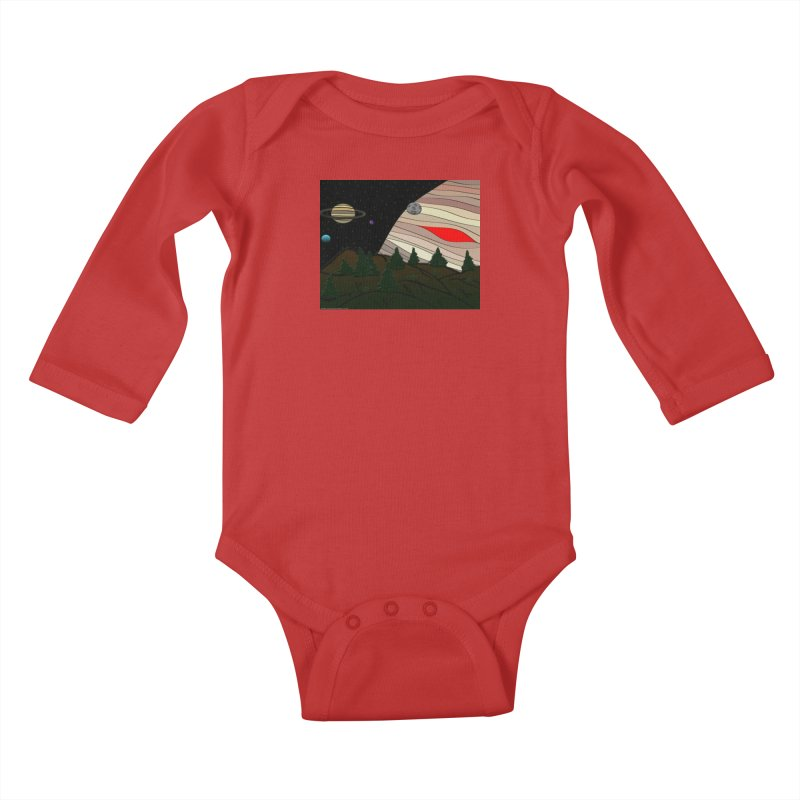 Was It All A Dream Kids Baby Longsleeve Bodysuit by Every Drop's An Idea's Artist Shop