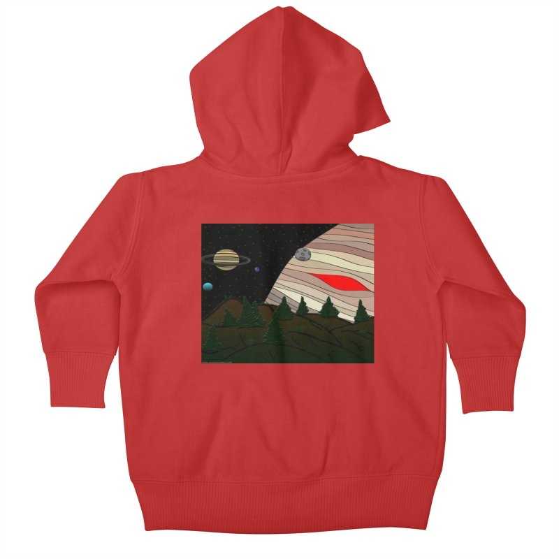 Was It All A Dream Kids Baby Zip-Up Hoody by Every Drop's An Idea's Artist Shop